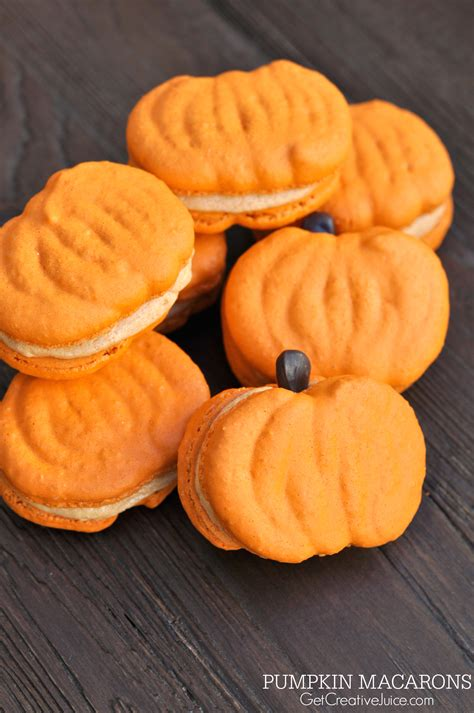 printable pumpkin recipes pumpkin macarons recipe tutorial and printable template
