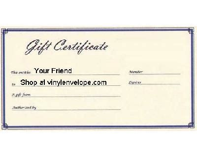 small gift cards templates gift certificates