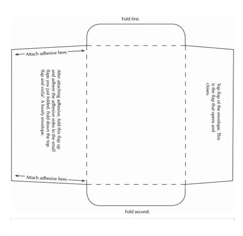 small envelope template 7 sles exles format