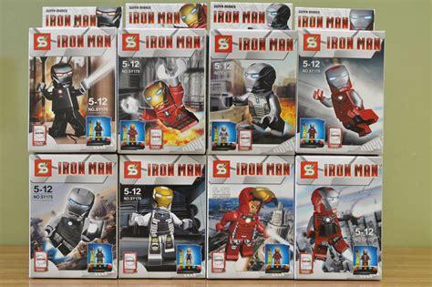 Lego Bootleg Ironman Minifigure 03 my brick store want more ironman