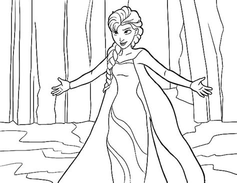 coloring pages let it go let it go elsa from frozen coloring pages let best free