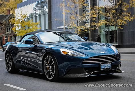Aston Martin Canada by Aston Martin Vanquish Spotted In Toronto Canada On 10 26