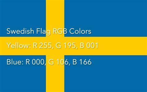 schwedische flagge bedeutung und farben der fahne