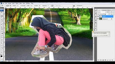 tutorial photoshop cs3 manipulasi manipulasi background step by step photoshop cs3 youtube