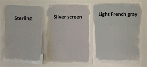 behr light gray paints sterling silver screen and light gray it s a