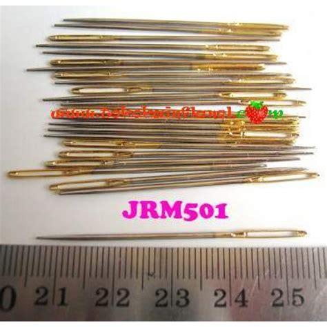 Jrp203 Jarum Pentul Jepang Panjang 4 Cm Isi 100 T2709 jrm501 jarum sulam pita per satuan
