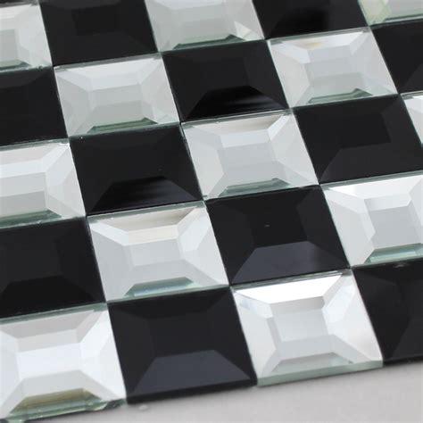 black and white mosaic bathroom floor tiles pyramid 3d
