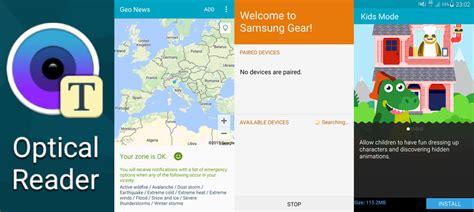 optical reader apk viertal samsung galaxy s6 apps uitgelekt en te downloaden