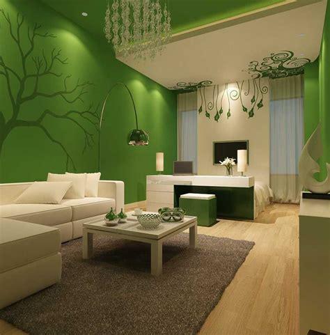 ruang tamu sederhana warna hijau denah rumah jadikan ruang tamu indah estetik dengan warna cat ruang