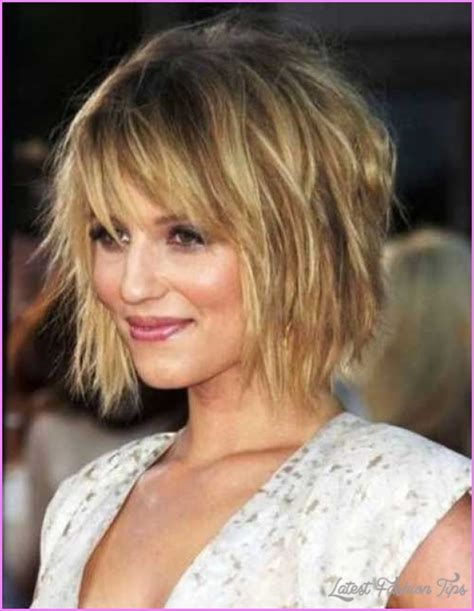 hairstyles messy bob medium messy bob hairstyles latestfashiontips com