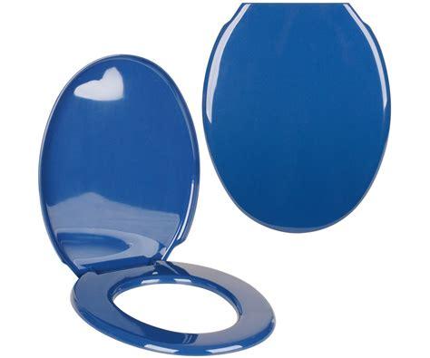 Abattant Toilette Design by Abattant De Toilettes Cuvette Wc Design Uni Bleu Fonc 233