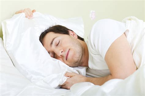 man sleeping in bed minimizing your symptoms of add which comes first