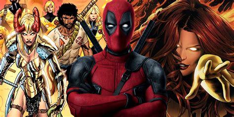 new deadpool zerchoo new mutants deadpool 2 and