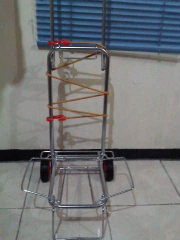 Koper Gantungan Koper Serbaguna Meringankan Beban Bawaan 2 jual trolley lipat barang ono shop