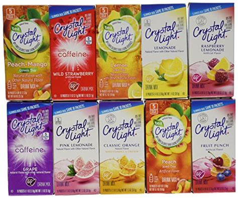 crystal light water flavor packets flavor my water shopswell