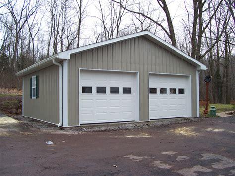 Pole Building Garages Garage Builders In Pa Pole Barn Garage Doors