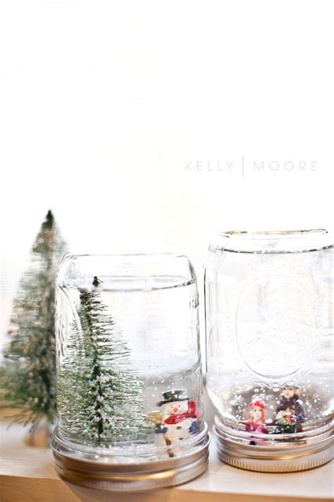 Handmade Snow Globes - snow globes crafts