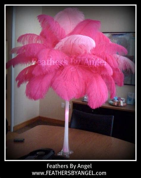 feather centerpieces for sweet 16 sweet 16 centerpieces feathers by s