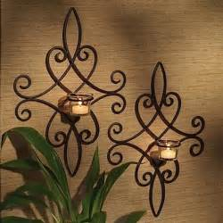Candle Wall Decor by Wall Decor Candles Home Decoration Club