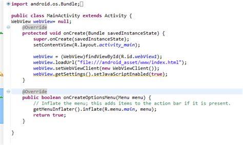 cara membuat web di android cara membuat web app pada android
