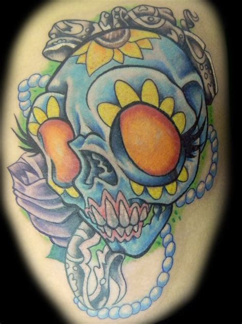 girly sugar skull tattoos pin girly sugar skull tattoos on