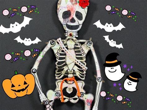 decorar una calavera de papel halloween decoraci 243 n de calavera y esqueleto vintage