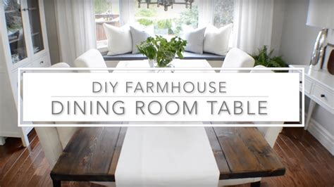 diy farmhouse dining table plans the home depot