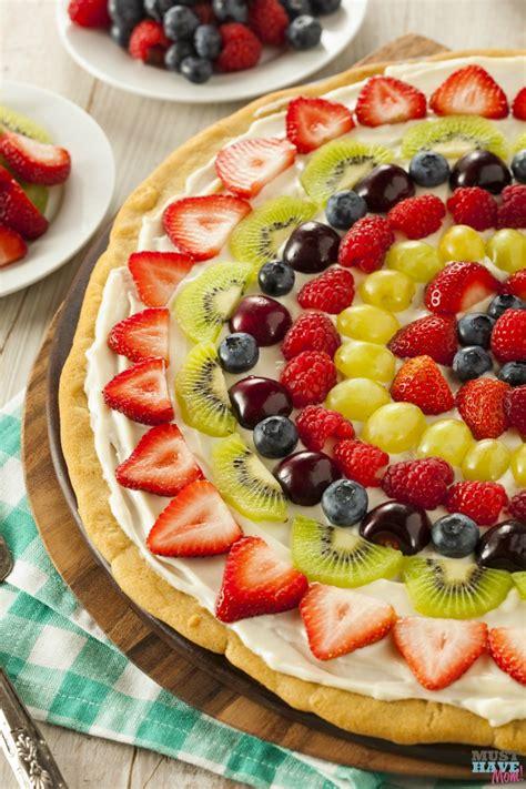 fruit pizza easy fruit pizza recipe