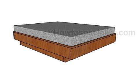 floating platform bed plans 25 best ideas about queen size platform bed on pinterest