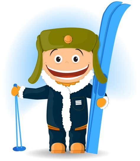 scarica clipart gratis felice sciatore illustrazione scaricare vettori gratis