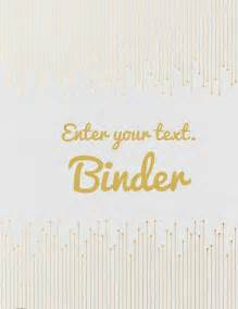 Binder Cover Template by Free Binder Cover Templates