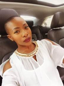 pearl modiadie haircut hair top south african celebs that went short and we totally