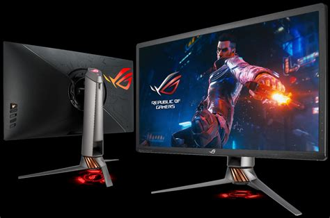 the rog pg27uq is finally ready 4k 144hz with g sync hdr available for pre order rog