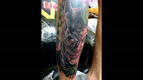 joker tattoo youtube batman vs joker tattoo www imgkid com the image kid