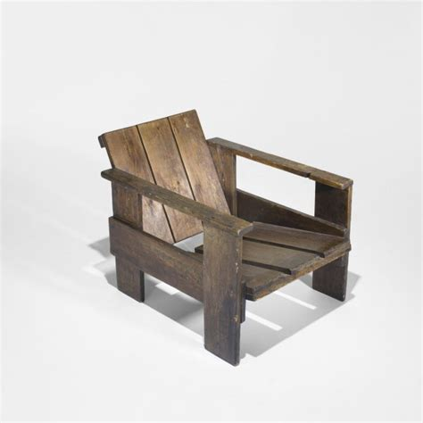 Gerrit Rietveld Crate Chair by 503 Gerrit Rietveld Crate Chair Lot 503