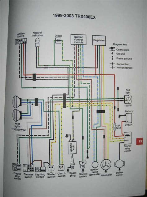 1992 honda trx300fw wiring diagram suzuki 230 quadrunner
