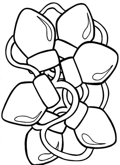 Snoopy Christmas Lights Coloring Pages Coloring Pages Printable Lights Coloring Pages