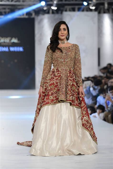 shiza hassan latest wedding dresses pakistani bridal