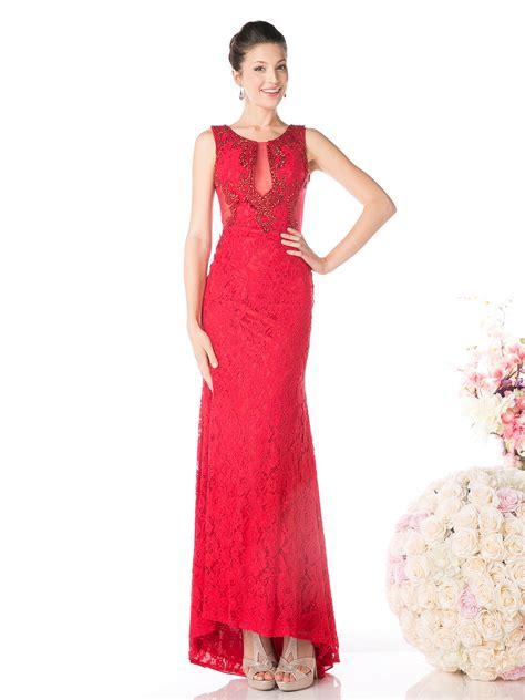Crochet Sleeveless Evening Dress sleeveless lace overlay evening dress sung boutique l a