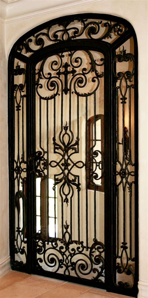 this iron door w cross world mediterranean
