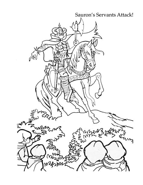 lord of the rings coloring book 50 best lord of the rings colouring pages images on