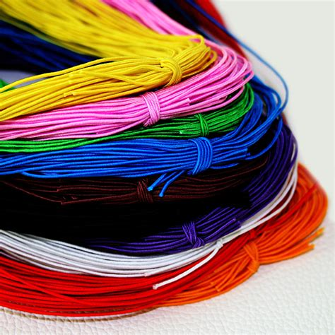 beading with stretch cord 10 colors choice 25meters 1mm beading elastic stretch cord
