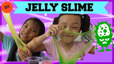 membuat slime jelly jelly slime tutorial gang banget youtube