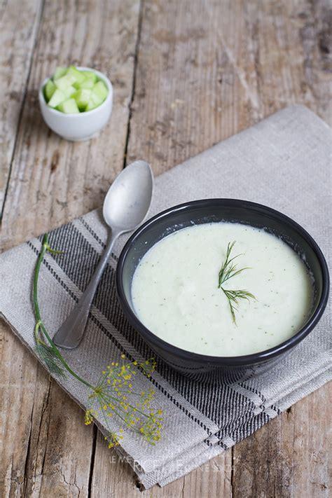 cetrioli come cucinarli crema fredda di cetrioli le mie ricette con e senza
