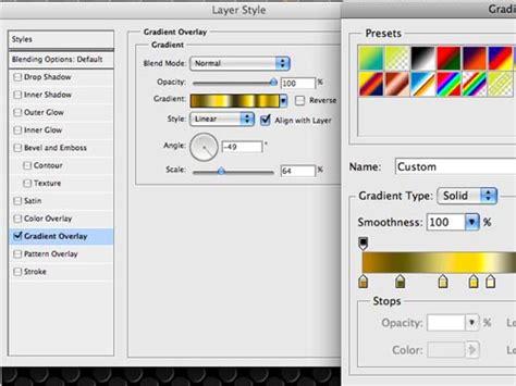 home design gold tutorial badass bling effect in photoshop go media 183 creativity