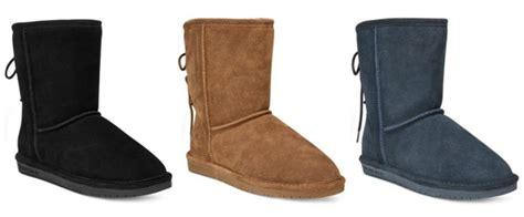 bearpaw boots macys macy s women s bearpaw boots 27 65 free shipping reg