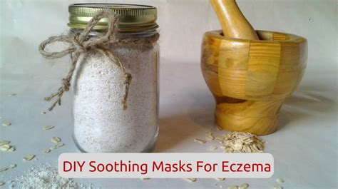 diy soothing masks for eczema