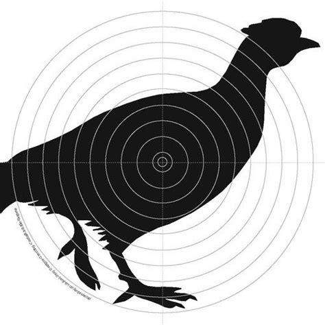 printable pheasant targets details about 100 x 14cm air rifle shooting gun targets 4