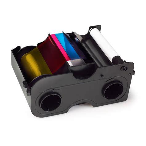 Ribbon Ymcko Fargo Dtc 1250e Pn 45500 ymcko colour ribbon for fargo dtc1000 dtc1250e 45000 essentra security id