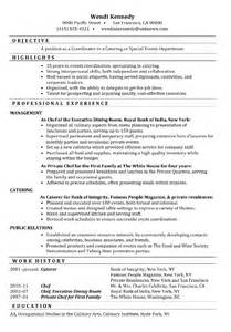 Special Events Assistant Sle Resume by Special Events Coordinator Resume Sles Security